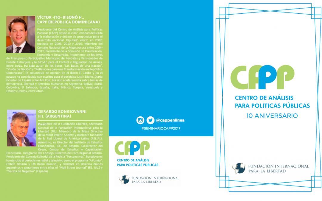 Conozca el perfil de los ponentes del #SeminarioCAPP2017