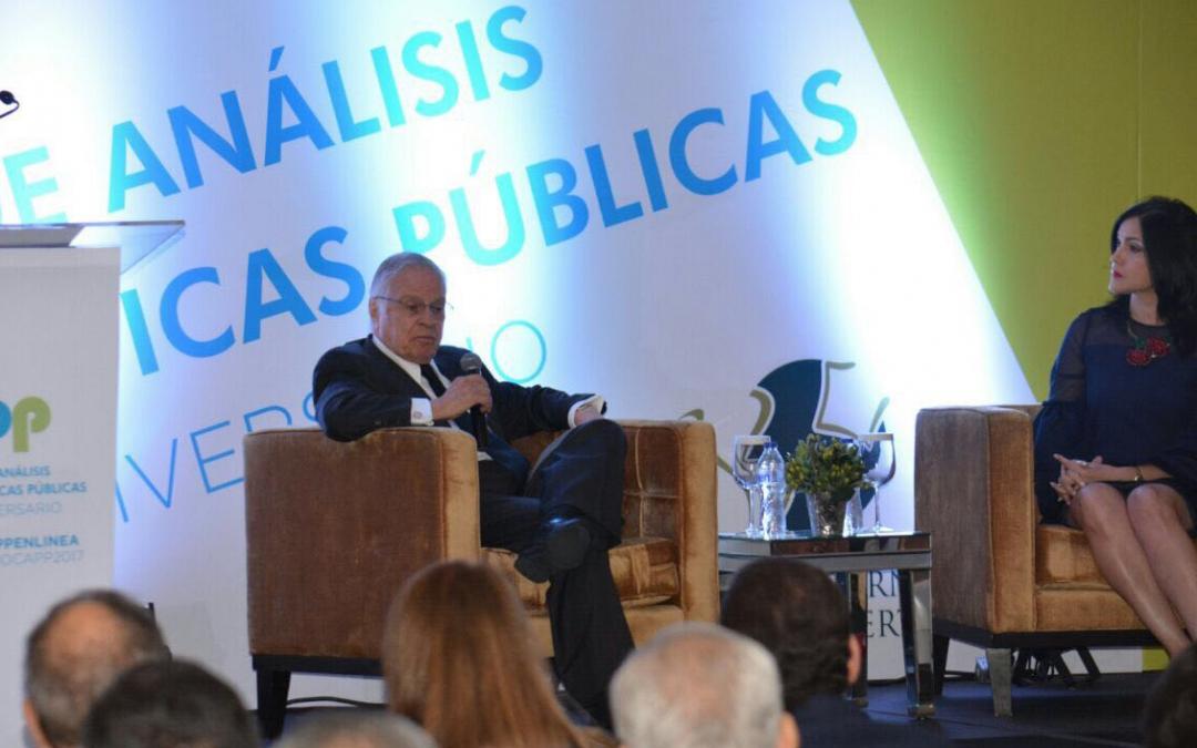"""""""Se necesitan gobiernos más eficientes"""", dijo expresidente de Costa Rica en Seminario CAPP"""