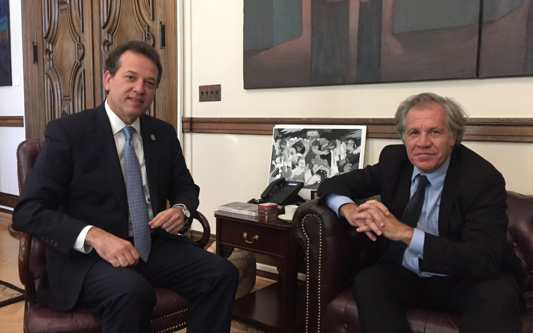 Presidente del CAPP se reune con el Secretario General de la OEA