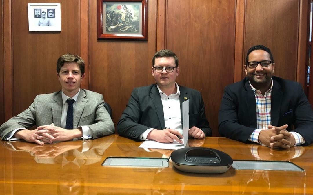 CAPP de República Dominicana firma acuerdo de colaboración con la Universidad La Gran Colombia